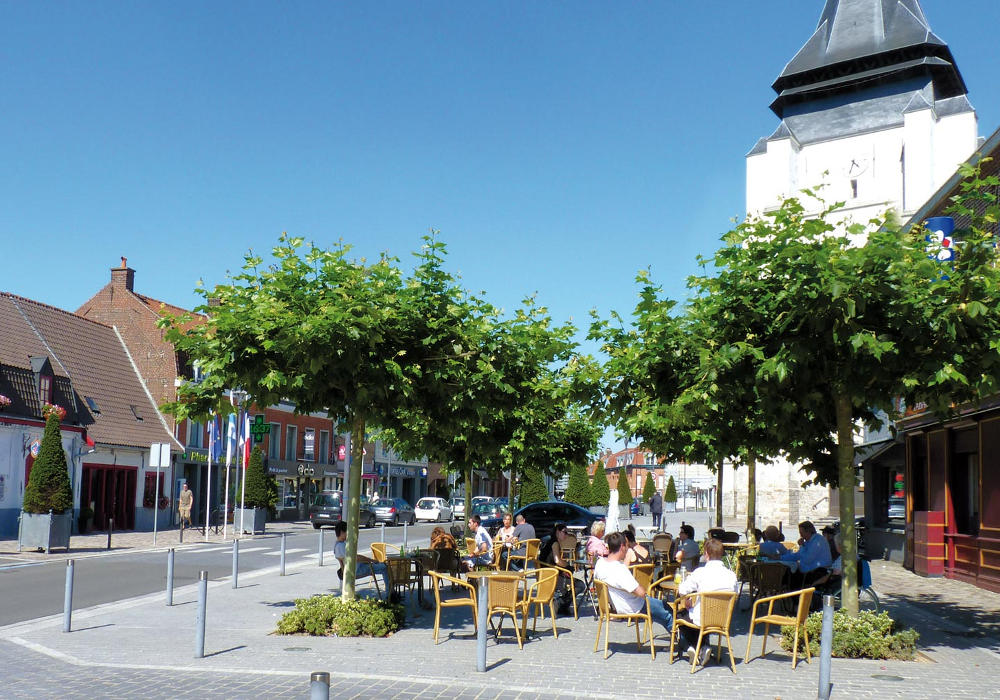 Le quartier Saint Vincent à Marcq en Baroeul