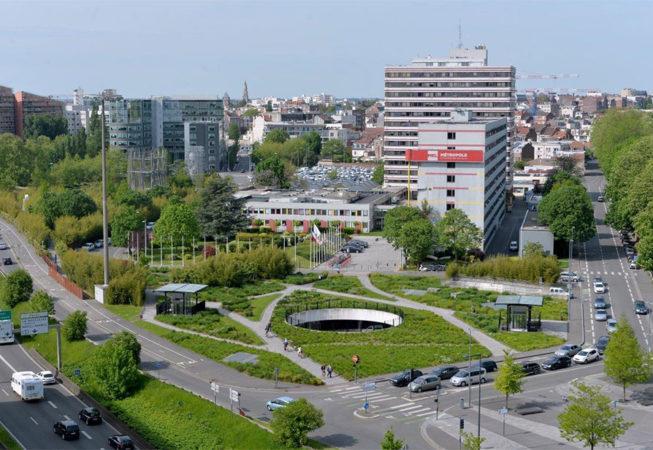 Le siège de la Métropole de Lille